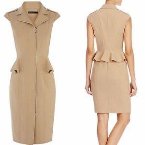 Karen Millen Peplum Tailored Dress NWT